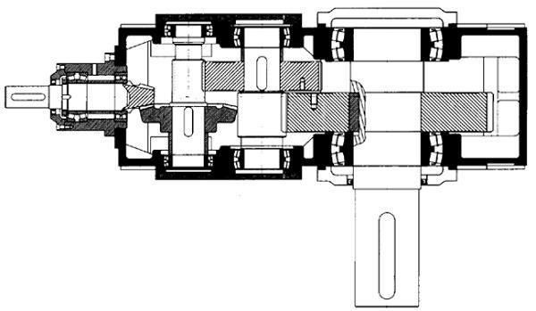 电风扇底座结构图